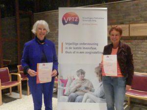 VPTZ verwelkomt twee nieuwe vrijwilligers